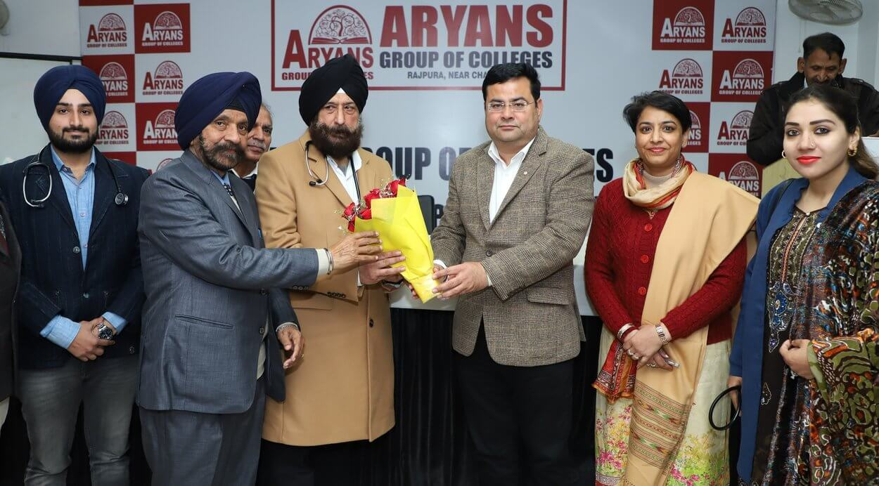 Blood donation at aryans