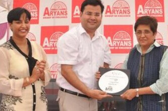 Kiran Bedi launched a special scholarship