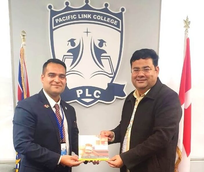 Canadian Pacific Link College Signed MoU with Aryans Group, Chandigarh