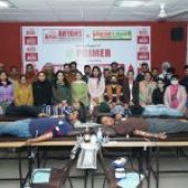 PGI & Aryans organises Blood Donation Camp at Aryans Campus