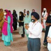 Path Shri Sukhmani Sahib held at Aryans on its 15th Foundation Day