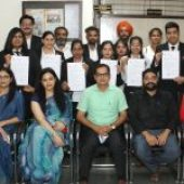 Legal Services Authority, UT Chandigarh awards certificate to Aryans Law Students for internship