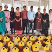Aryans students turn saviours for various species of birds